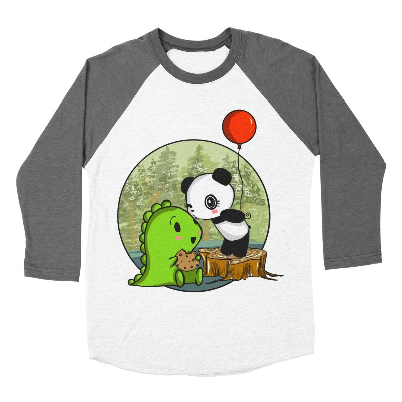 Cookies and Kisses Women's Longsleeve T-Shirt by Dino & Panda Inc Artist Shop