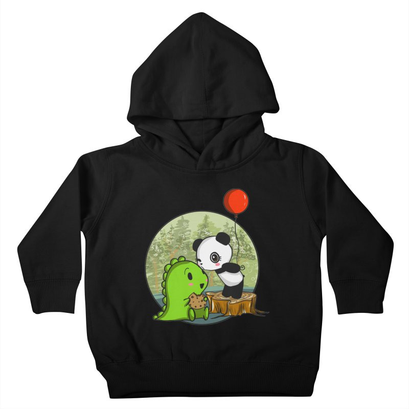 Cookies and Kisses Kids Toddler Pullover Hoody by Dino & Panda Inc Artist Shop