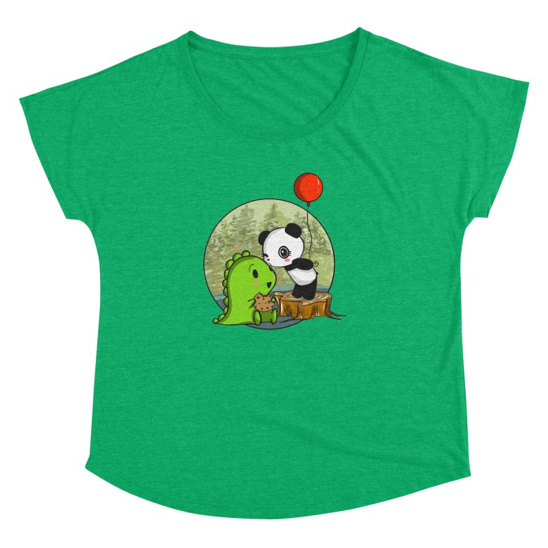 Cookies and Kisses Women's Dolman by Dino & Panda Inc Artist Shop