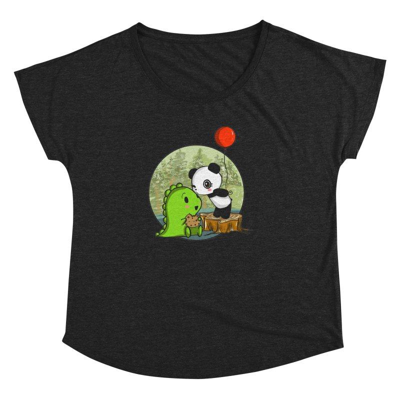 Cookies and Kisses Women's Dolman by Dino & Panda Inc Artist Shop