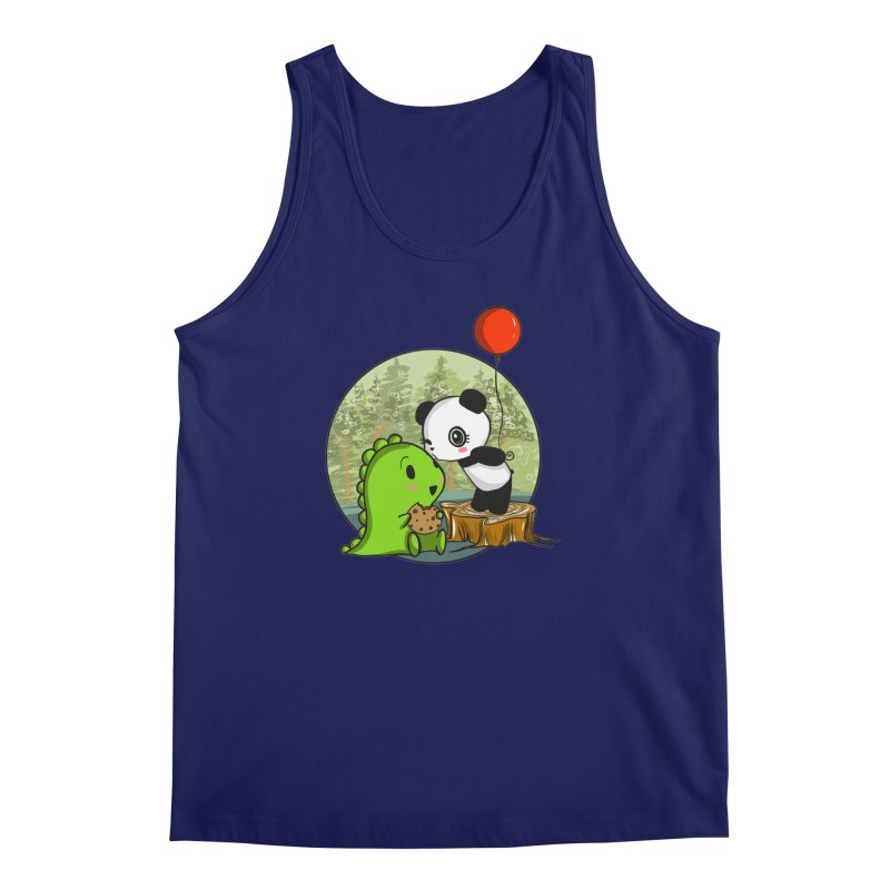 Cookies and Kisses Men's Regular Tank by Dino & Panda Inc Artist Shop