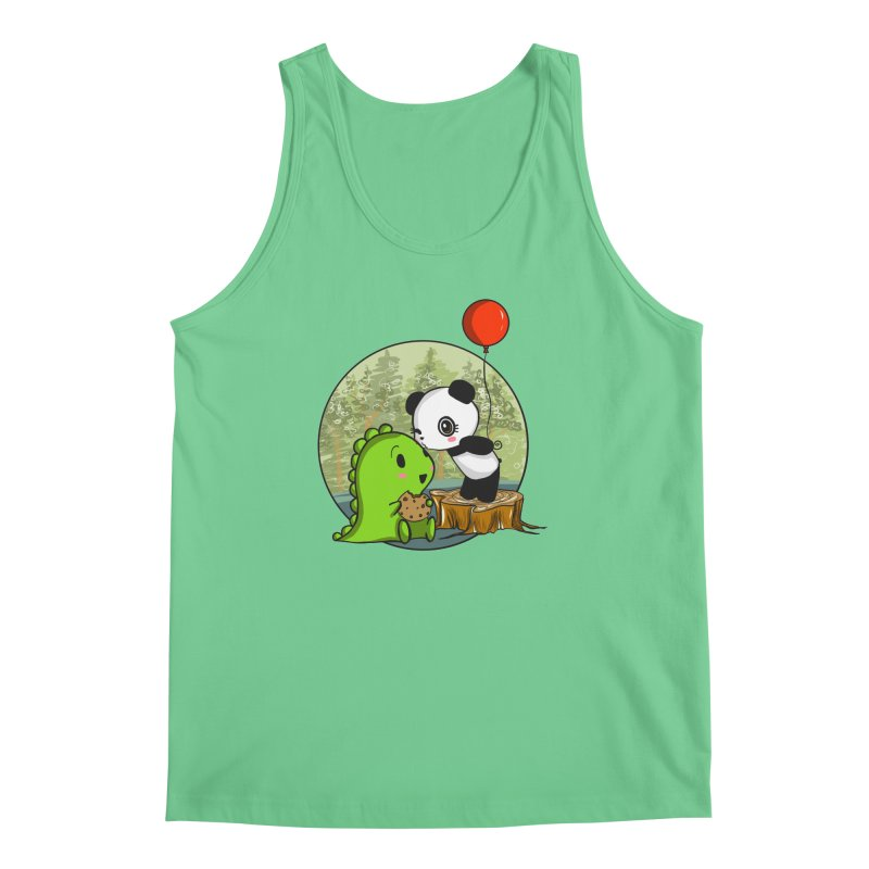 Cookies and Kisses Men's Regular Tank by Dino & Panda Inc Artist Shop