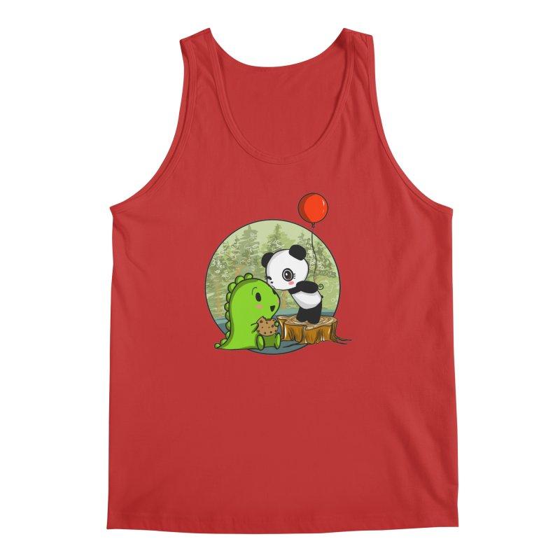 Cookies and Kisses Men's Tank by Dino & Panda Inc Artist Shop