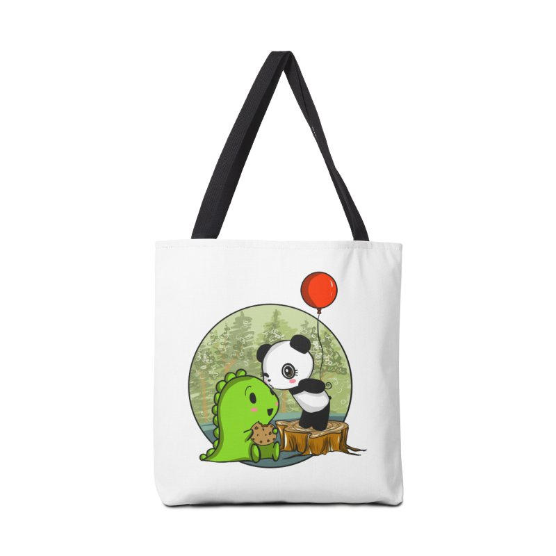 Cookies and Kisses Accessories Tote Bag Bag by Dino & Panda Inc Artist Shop