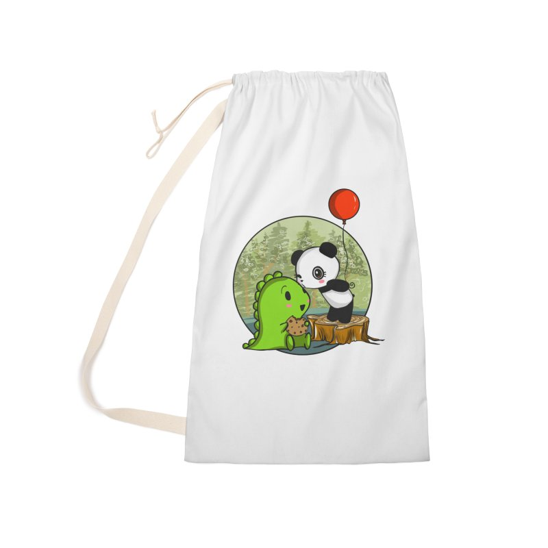 Cookies and Kisses Accessories Laundry Bag Bag by Dino & Panda Inc Artist Shop