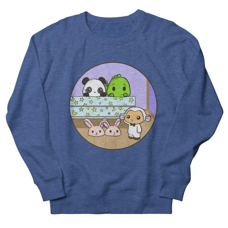 Dustbunny Friends Men's Sweatshirt by Dino & Panda Inc Artist Shop