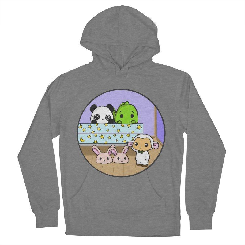 Dustbunny Friends Women's Pullover Hoody by Dino & Panda Inc Artist Shop