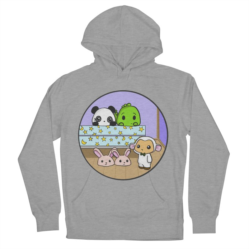 Dustbunny Friends Women's Pullover Hoody by Dino & Panda Inc Artist Shop
