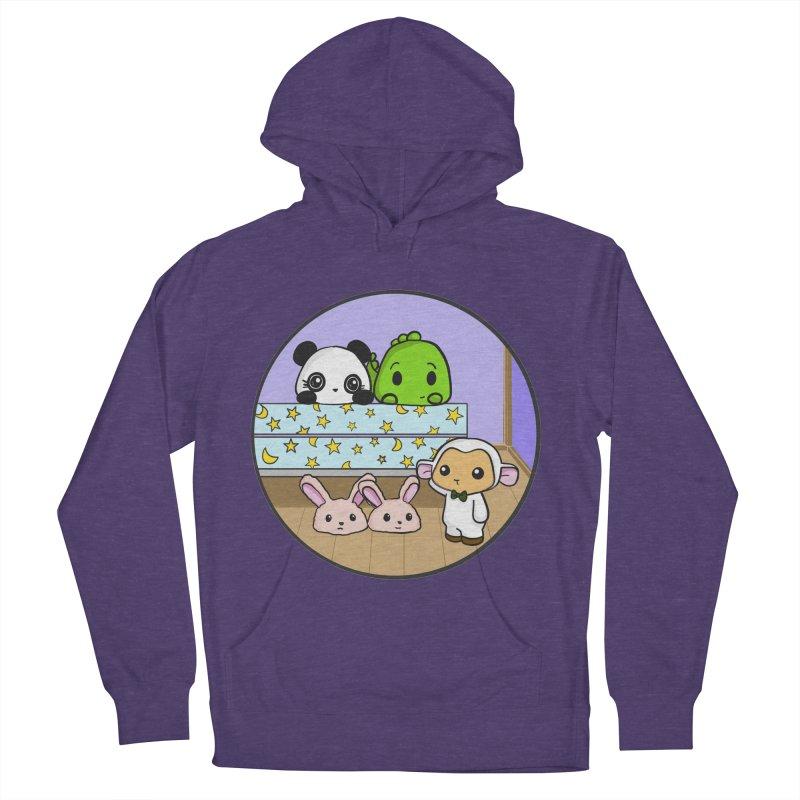 Dustbunny Friends Men's Pullover Hoody by Dino & Panda Inc Artist Shop