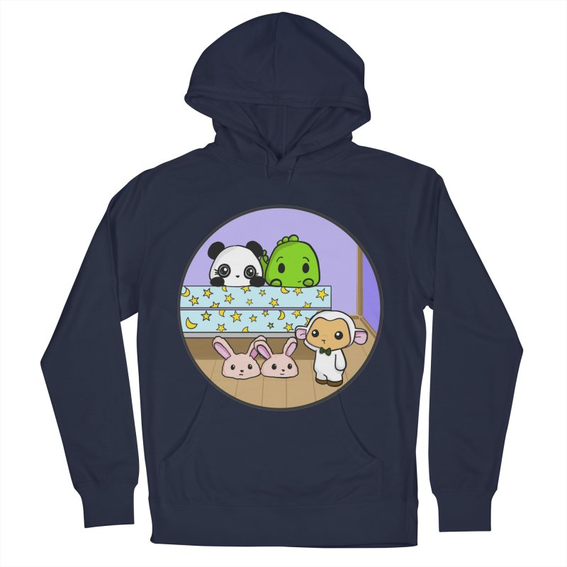 Dustbunny Friends Men's Pullover Hoody by Dino & Panda Inc Artist Shop