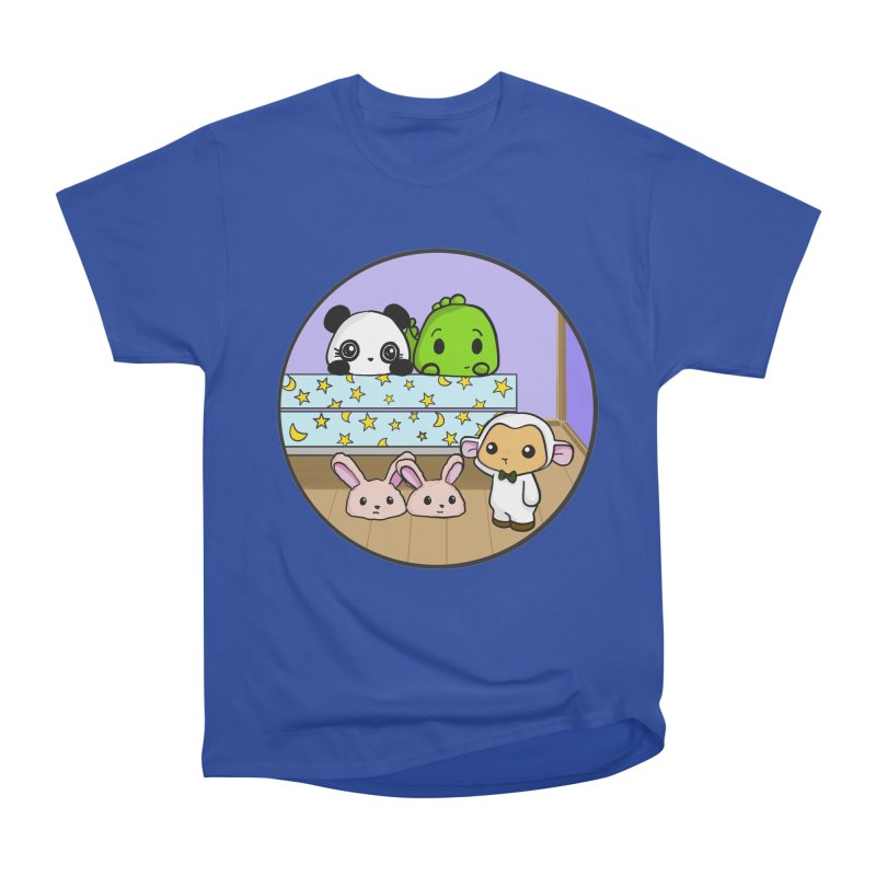 Dustbunny Friends Women's Classic Unisex T-Shirt by Dino & Panda Inc Artist Shop