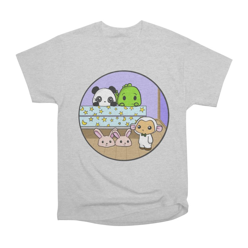 Dustbunny Friends Men's Heavyweight T-Shirt by Dino & Panda Inc Artist Shop
