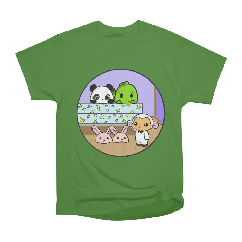 Dustbunny Friends Men's Classic T-Shirt by Dino & Panda Inc Artist Shop