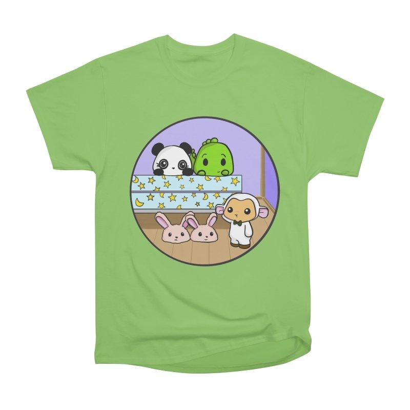 Dustbunny Friends Men's Heavyweight T-Shirt by Dino & Panda Inc Artist Shop