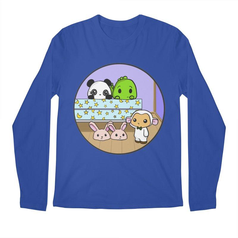 Dustbunny Friends Men's Longsleeve T-Shirt by Dino & Panda Inc Artist Shop