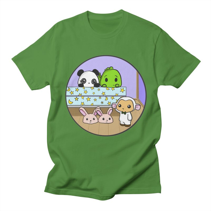 Dustbunny Friends Women's T-Shirt by Dino & Panda Inc Artist Shop