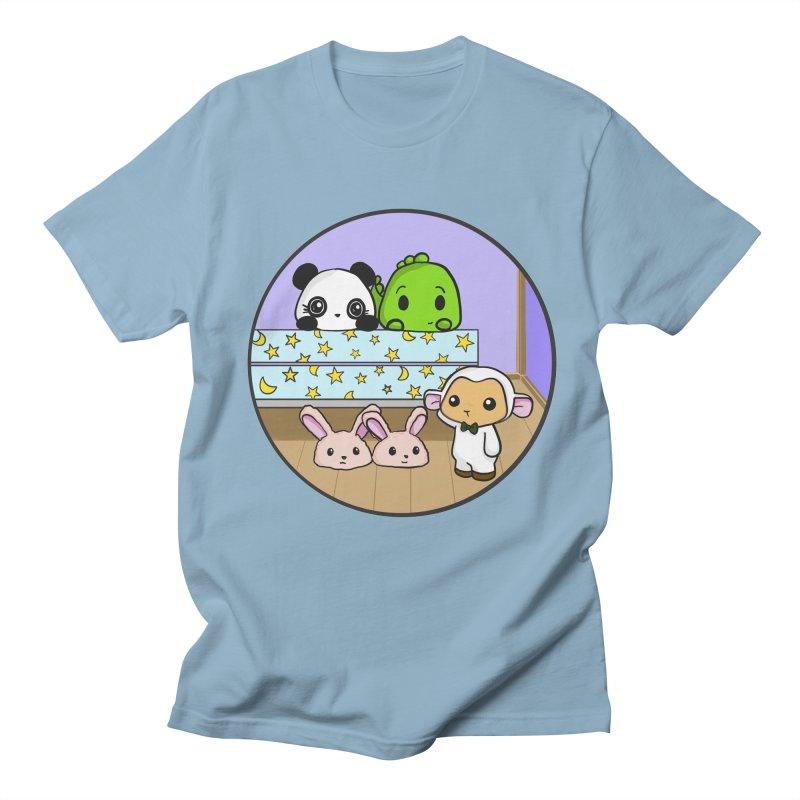 Dustbunny Friends Women's Regular Unisex T-Shirt by Dino & Panda Inc Artist Shop