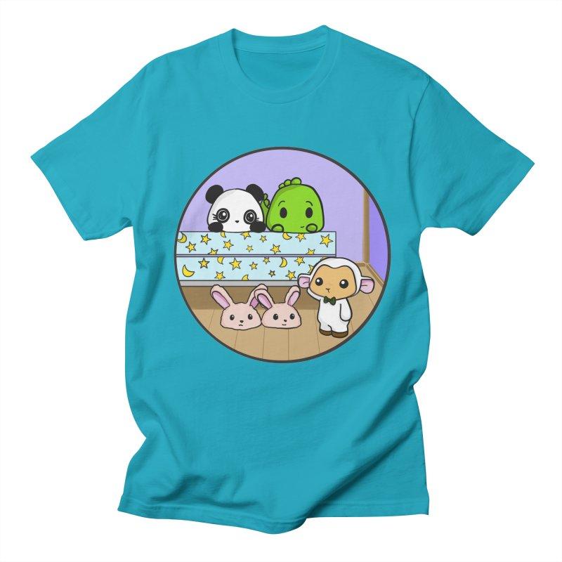 Dustbunny Friends Men's Regular T-Shirt by Dino & Panda Inc Artist Shop