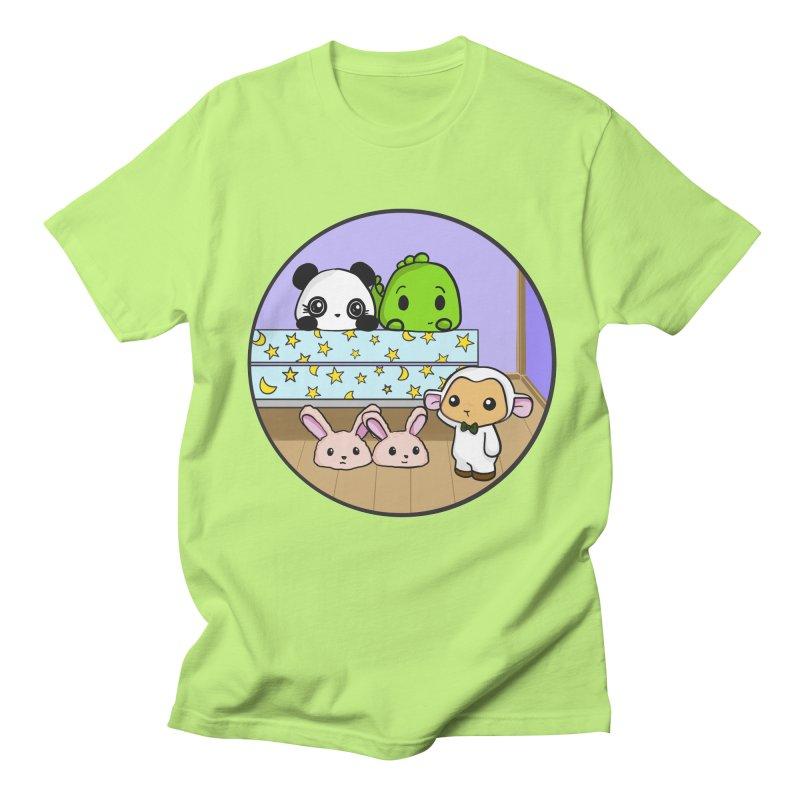 Dustbunny Friends Women's T-Shirt by Dino & Panda Inc Artist Shop