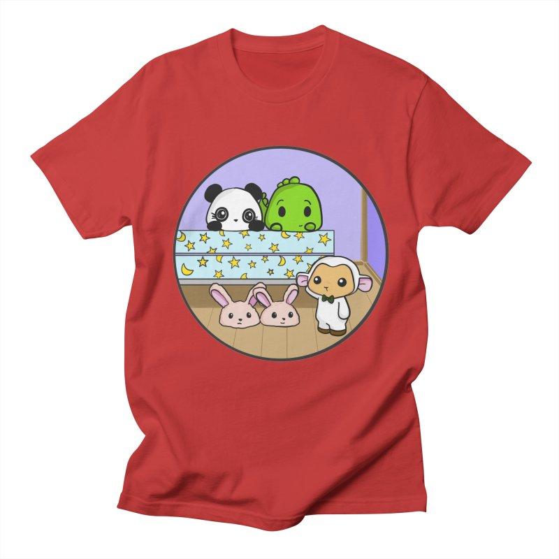 Dustbunny Friends Women's Unisex T-Shirt by Dino & Panda Inc Artist Shop