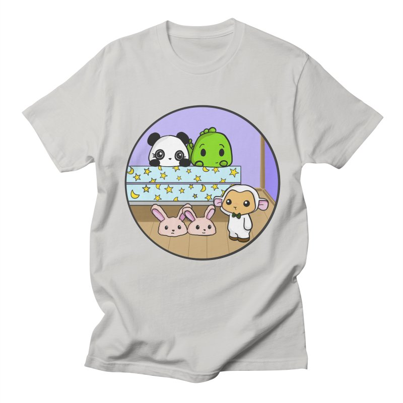 Dustbunny Friends Men's Regular T-Shirt by Dino & Panda Inc Artist Shop
