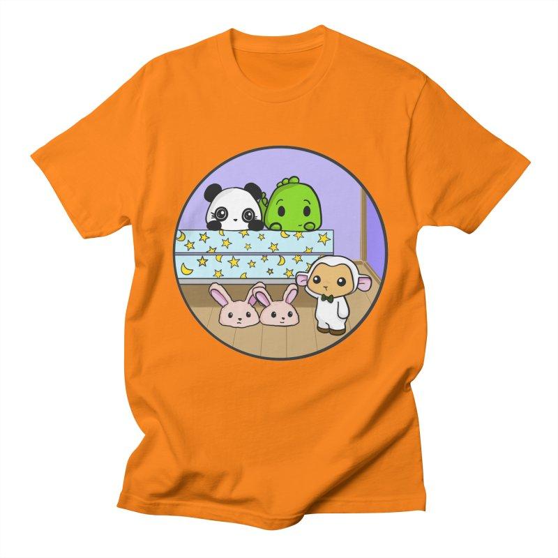 Dustbunny Friends Women's T-Shirt by Dino & Panda Artist Shop