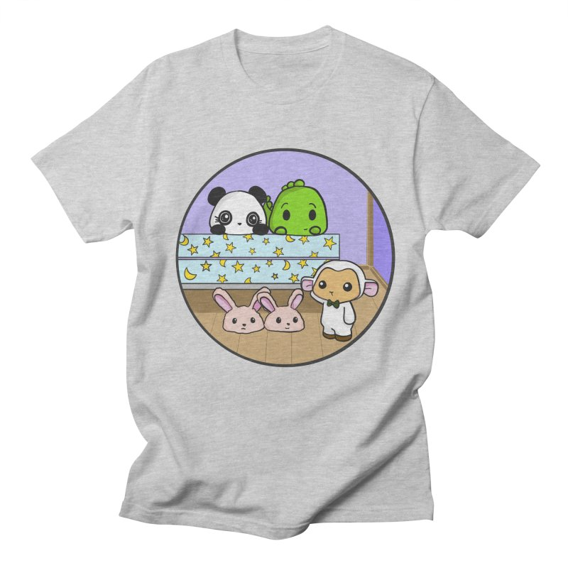 Dustbunny Friends Women's Regular Unisex T-Shirt by Dino & Panda Inc Artist Shop