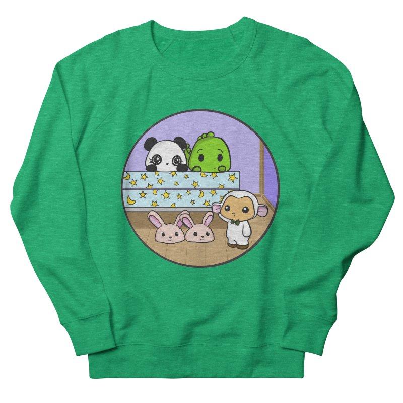Dustbunny Friends Women's French Terry Sweatshirt by Dino & Panda Inc Artist Shop