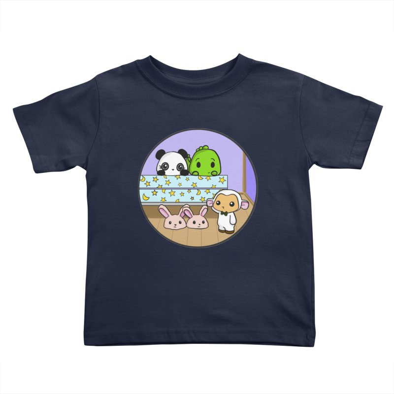 Dustbunny Friends Kids Toddler T-Shirt by Dino & Panda Inc Artist Shop