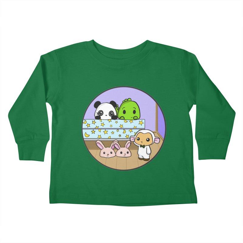 Dustbunny Friends Kids Toddler Longsleeve T-Shirt by Dino & Panda Inc Artist Shop