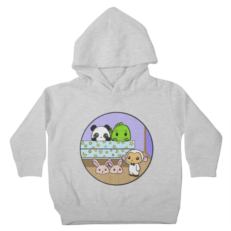 Dustbunny Friends Kids Toddler Pullover Hoody by Dino & Panda Inc Artist Shop