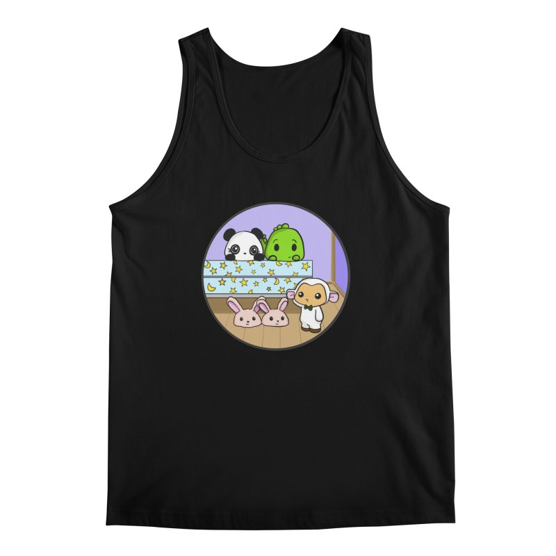 Dustbunny Friends Men's Regular Tank by Dino & Panda Inc Artist Shop