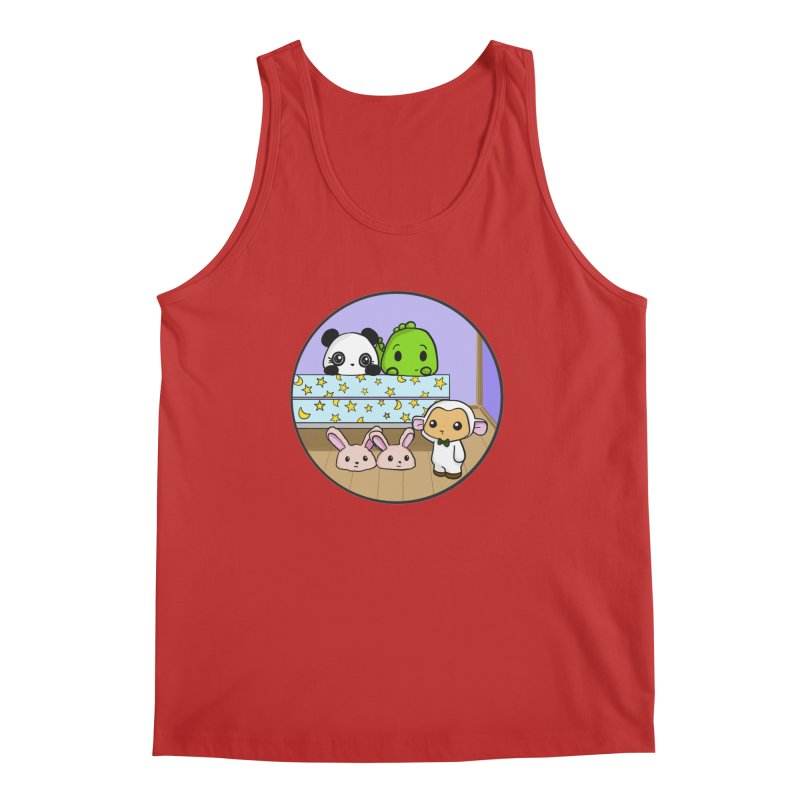Dustbunny Friends Men's Tank by Dino & Panda Inc Artist Shop