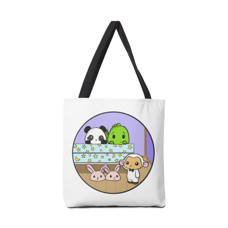 Dustbunny Friends Accessories Bag by Dino & Panda Inc Artist Shop
