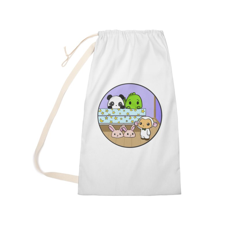 Dustbunny Friends Accessories Laundry Bag Bag by Dino & Panda Inc Artist Shop