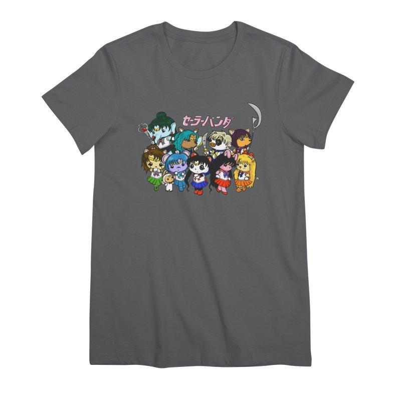 Sailor Panda and Friends Women's T-Shirt by Dino & Panda Artist Shop