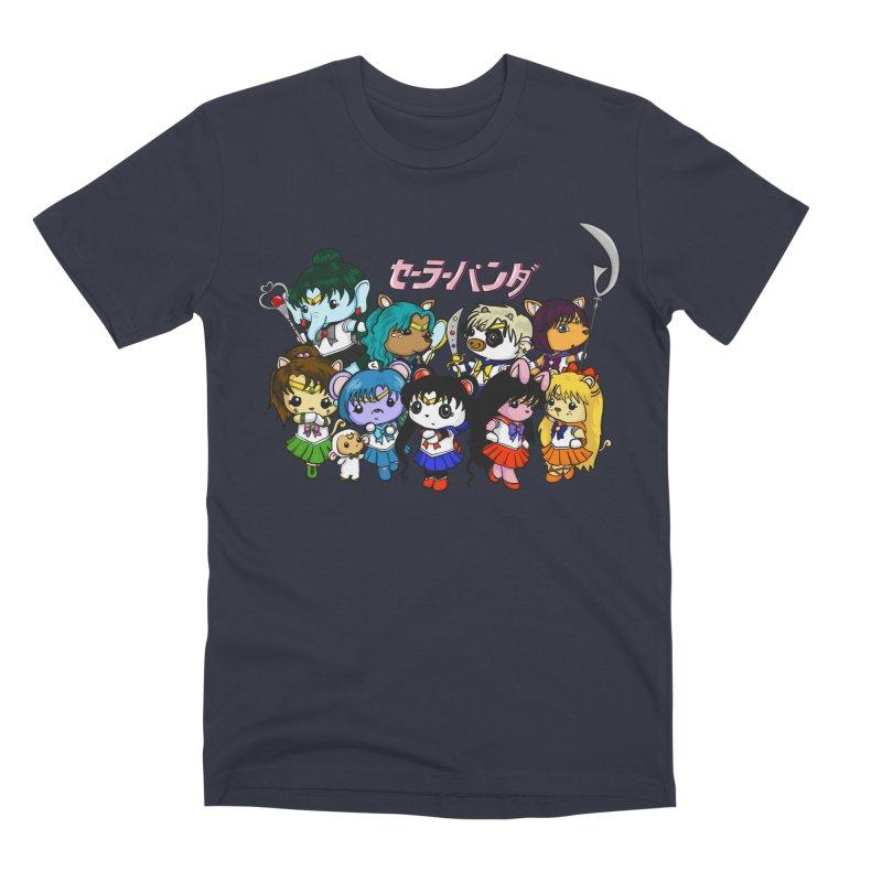 Sailor Panda and Friends Men's Premium T-Shirt by Dino & Panda Inc Artist Shop