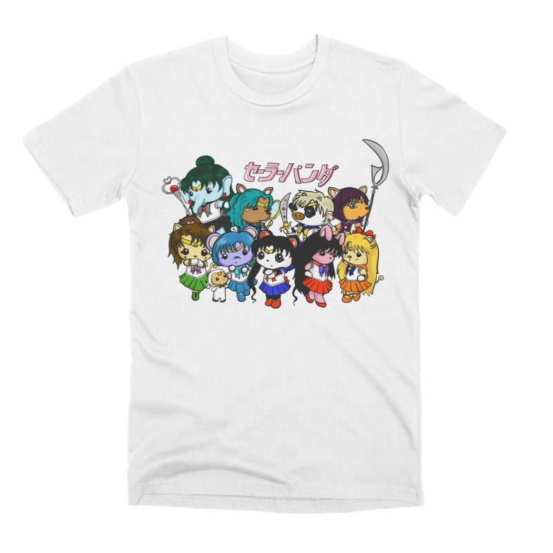 Sailor Panda and Friends Men's Premium T-Shirt by Dino & Panda Inc Artist Shop