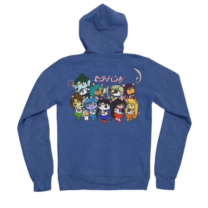 Sailor Panda and Friends Women's Sponge Fleece Zip-Up Hoody by Dino & Panda Inc Artist Shop