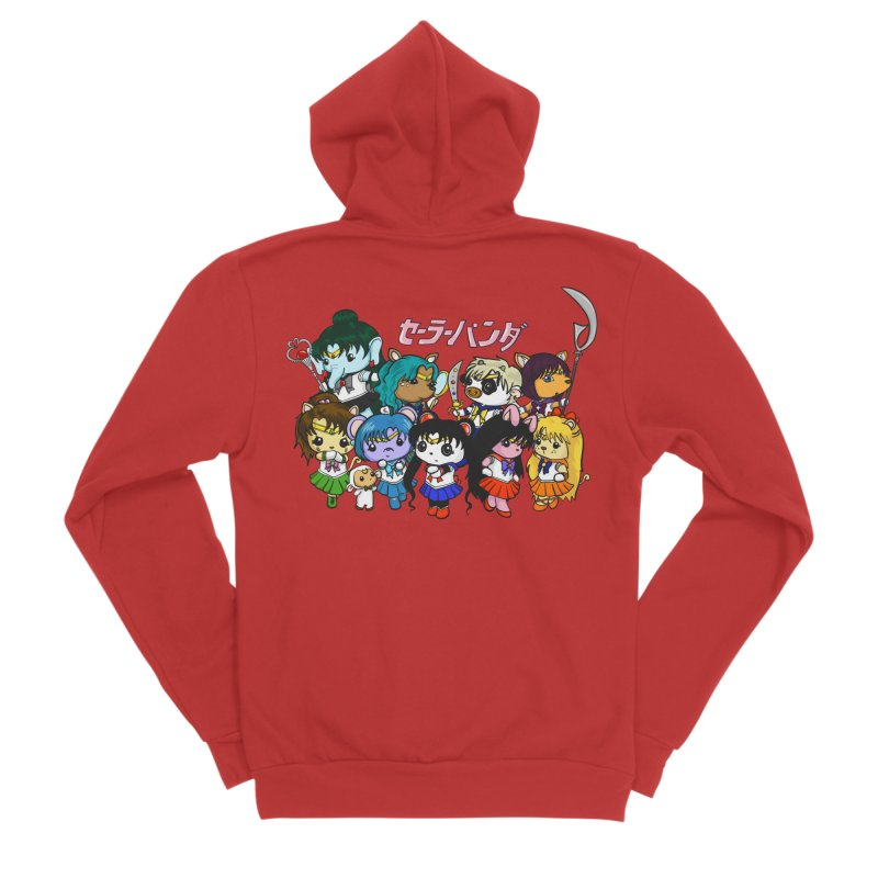 Sailor Panda and Friends Women's Zip-Up Hoody by Dino & Panda Artist Shop