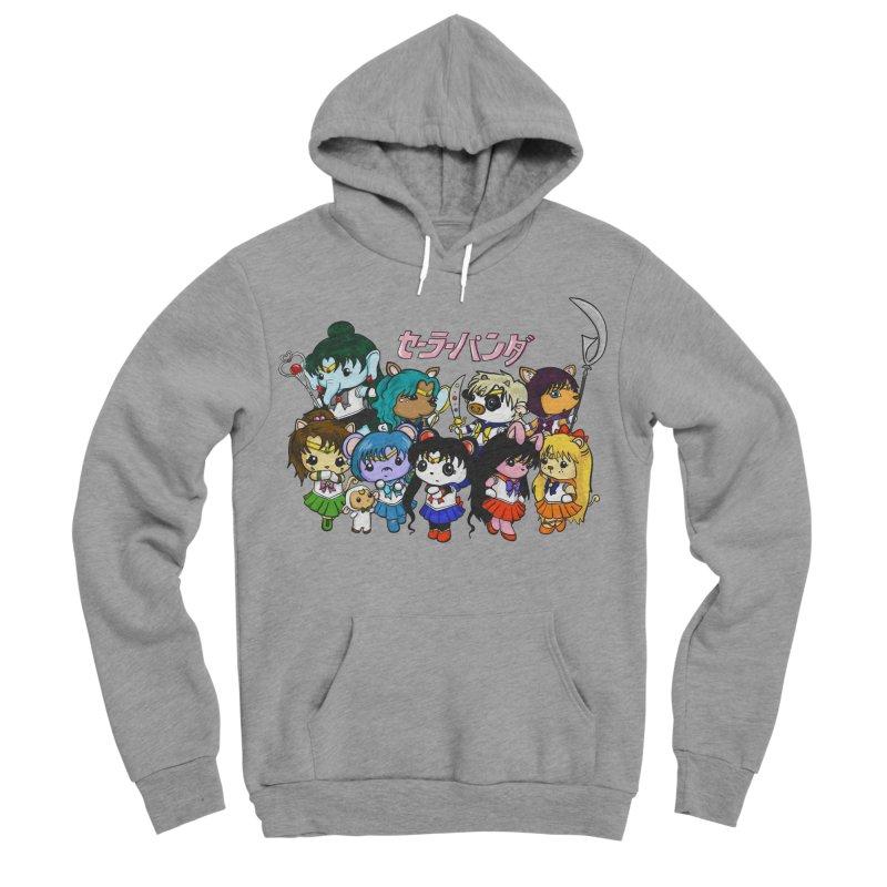 Sailor Panda and Friends Men's Sponge Fleece Pullover Hoody by Dino & Panda Inc Artist Shop