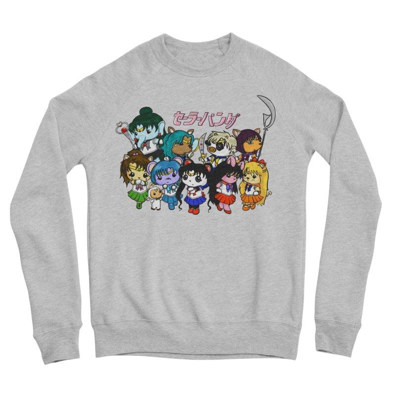 Sailor Panda and Friends Women's Sponge Fleece Sweatshirt by Dino & Panda Inc Artist Shop