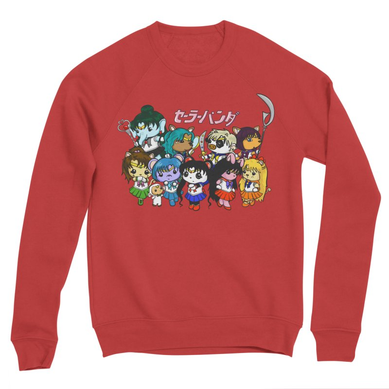 Sailor Panda and Friends Men's Sponge Fleece Sweatshirt by Dino & Panda Inc Artist Shop