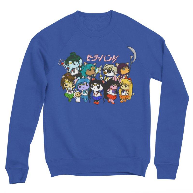 Sailor Panda and Friends Men's Sweatshirt by Dino & Panda Artist Shop