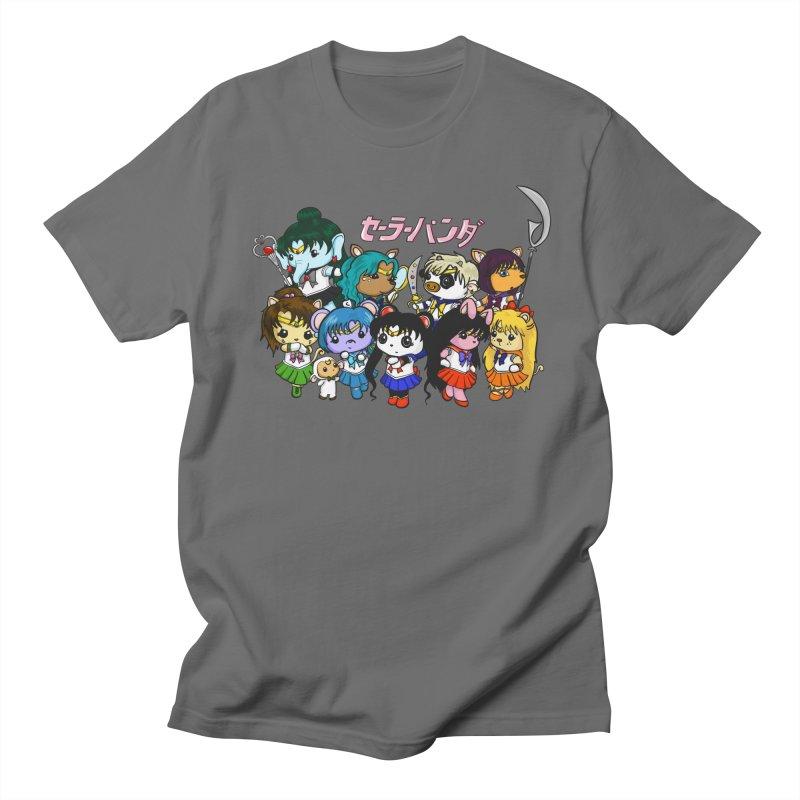 Sailor Panda and Friends Men's T-Shirt by Dino & Panda Inc Artist Shop