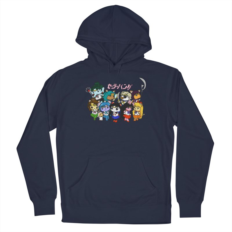 Sailor Panda and Friends Men's Pullover Hoody by Dino & Panda Inc Artist Shop