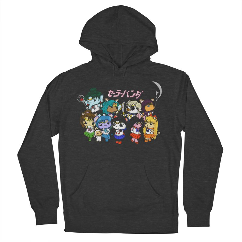Sailor Panda and Friends Men's French Terry Pullover Hoody by Dino & Panda Inc Artist Shop