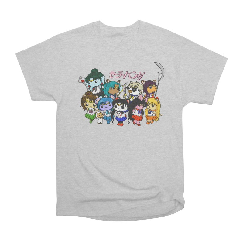 Sailor Panda and Friends Men's T-Shirt by Dino & Panda Artist Shop