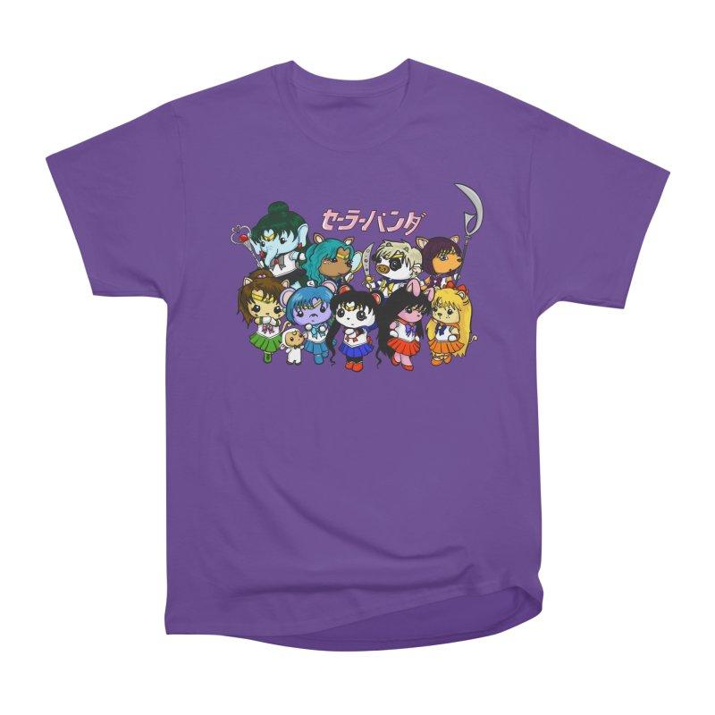 Sailor Panda and Friends Men's Heavyweight T-Shirt by Dino & Panda Inc Artist Shop