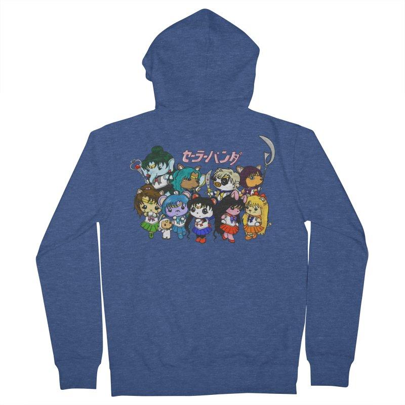 Sailor Panda and Friends Women's French Terry Zip-Up Hoody by Dino & Panda Inc Artist Shop